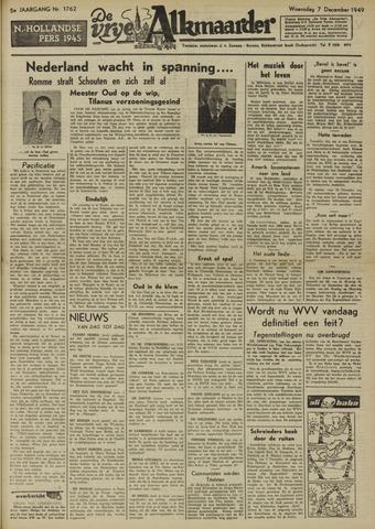 De Vrije Alkmaarder 1949-12-07