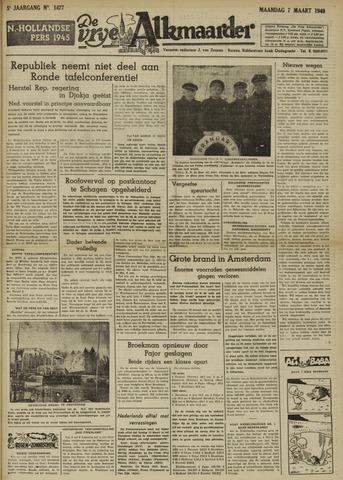 De Vrije Alkmaarder 1949-03-07