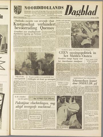 Noordhollands Dagblad : dagblad voor Alkmaar en omgeving 1958-09-12
