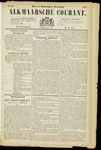 Alkmaarsche Courant 1891-06-10