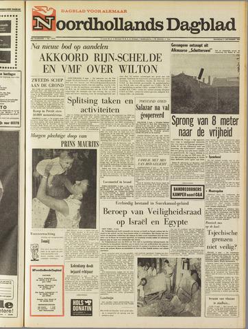 Noordhollands Dagblad : dagblad voor Alkmaar en omgeving 1968-09-09