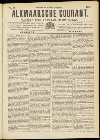 Alkmaarsche Courant 1906-03-28