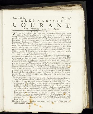 Alkmaarsche Courant 1806-04-21