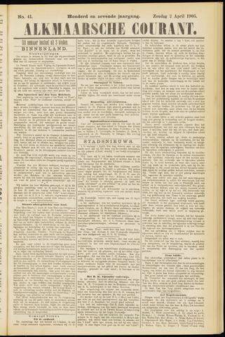 Alkmaarsche Courant 1905-04-02