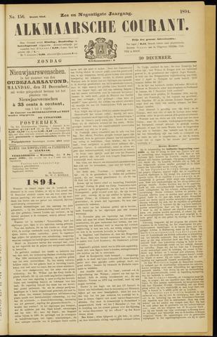 Alkmaarsche Courant 1894-12-30