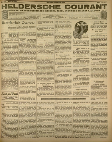 Heldersche Courant 1936-02-22