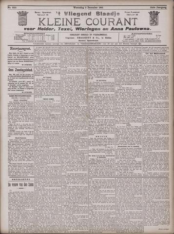 Vliegend blaadje : nieuws- en advertentiebode voor Den Helder 1903-12-09