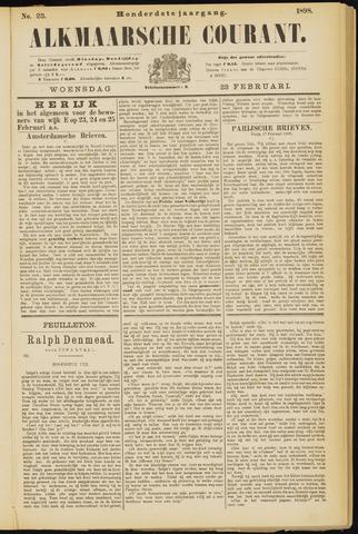 Alkmaarsche Courant 1898-02-23