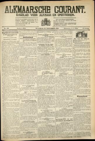 Alkmaarsche Courant 1930-11-24
