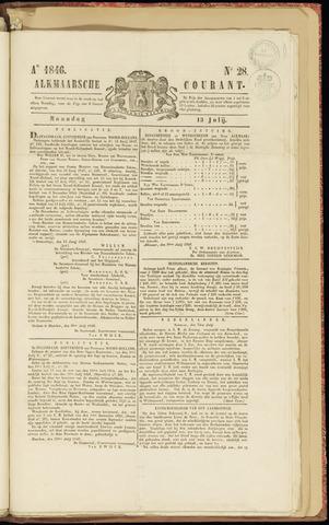 Alkmaarsche Courant 1846-07-13