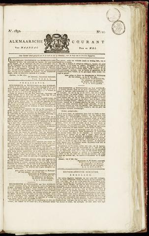 Alkmaarsche Courant 1832-05-21