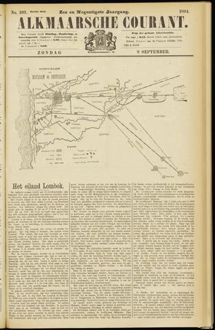 Alkmaarsche Courant 1894-09-09