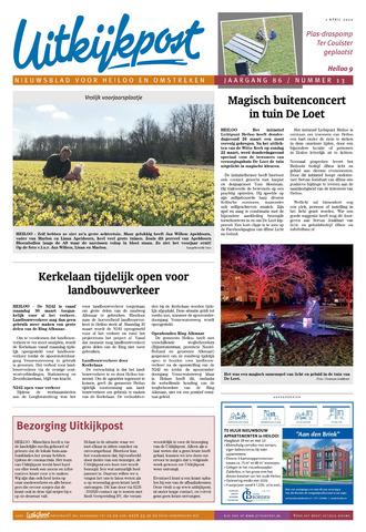 Uitkijkpost : nieuwsblad voor Heiloo e.o. 2020-04-01