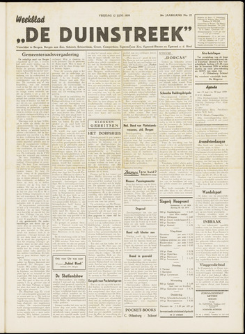 De Duinstreek 1959-06-12