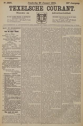 Texelsche Courant 1910-01-20