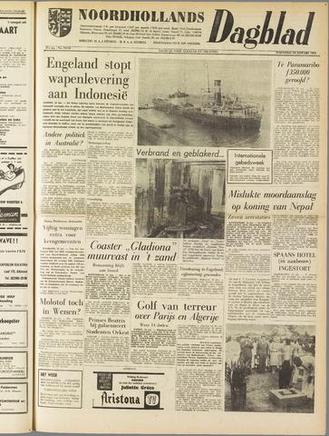 Noordhollands Dagblad : dagblad voor Alkmaar en omgeving 1962-01-24