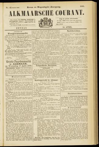 Alkmaarsche Courant 1895-04-14