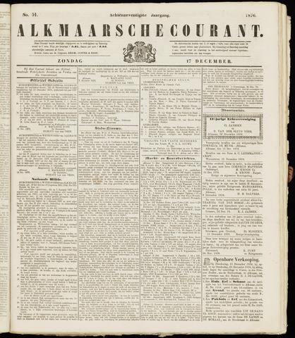 Alkmaarsche Courant 1876-12-17