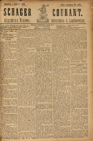 Schager Courant 1898