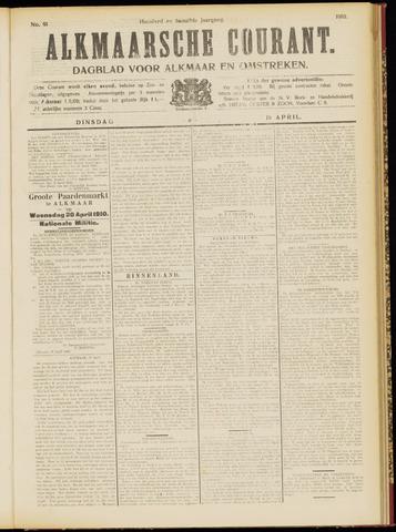 Alkmaarsche Courant 1910-04-19