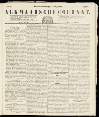 Alkmaarsche Courant 1870-10-02