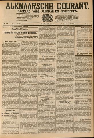 Alkmaarsche Courant 1934-05-08