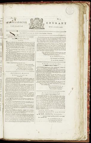 Alkmaarsche Courant 1822-01-07