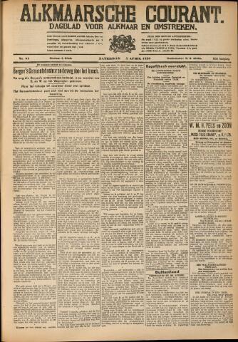 Alkmaarsche Courant 1930-04-05