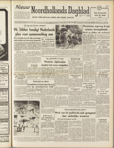 Nieuw Noordhollandsch Dagblad : voor Alkmaar en omgeving 1950-06-09