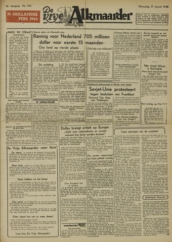 De Vrije Alkmaarder 1948-01-21
