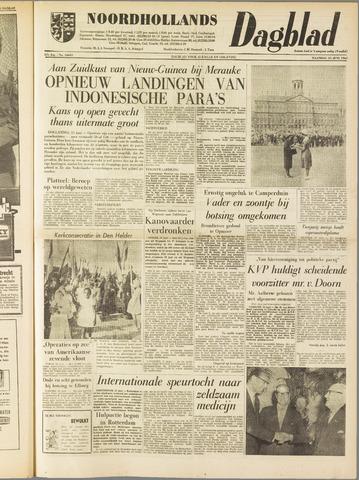 Noordhollands Dagblad : dagblad voor Alkmaar en omgeving 1962-06-25