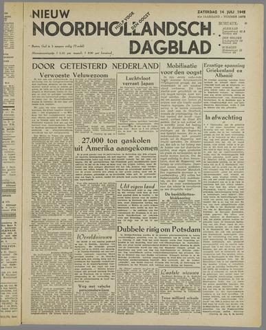 Nieuw Noordhollandsch Dagblad : voor Alkmaar en omgeving 1945-07-14