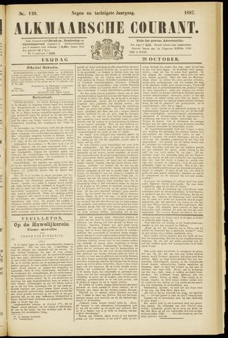 Alkmaarsche Courant 1887-10-28