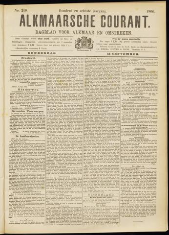 Alkmaarsche Courant 1906-09-13