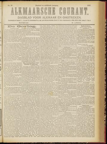 Alkmaarsche Courant 1916-04-18