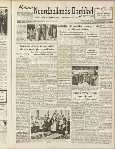 Nieuw Noordhollandsch Dagblad : voor Alkmaar en omgeving 1949-05-31
