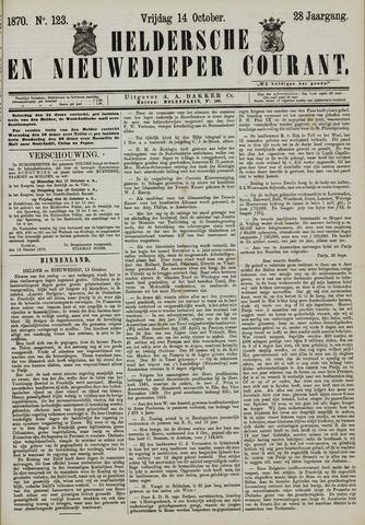Heldersche en Nieuwedieper Courant 1870-10-14