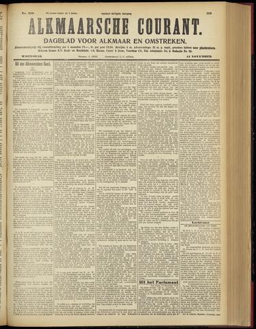 Alkmaarsche Courant 1928-11-14