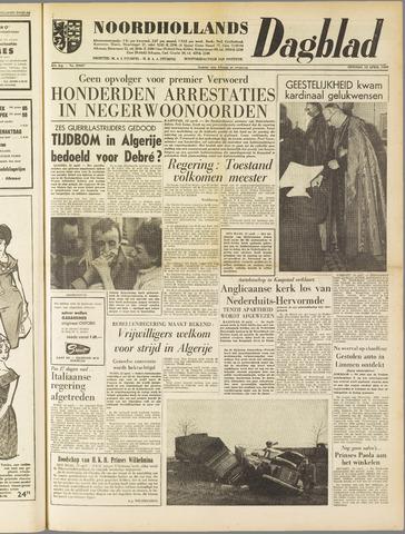 Noordhollands Dagblad : dagblad voor Alkmaar en omgeving 1960-04-12