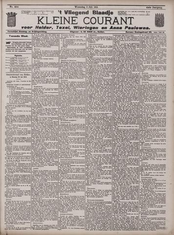 Vliegend blaadje : nieuws- en advertentiebode voor Den Helder 1913-07-02