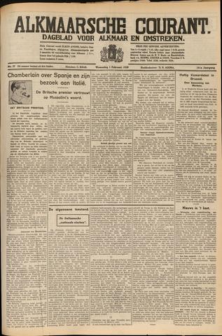 Alkmaarsche Courant 1939-02-01