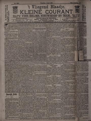 Vliegend blaadje : nieuws- en advertentiebode voor Den Helder 1894-04-04