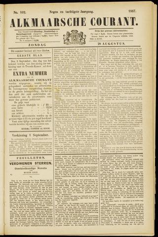 Alkmaarsche Courant 1887-08-28