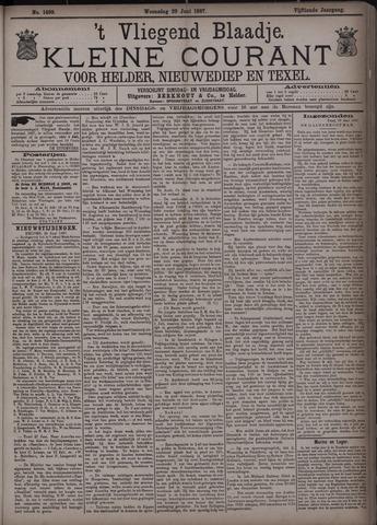 Vliegend blaadje : nieuws- en advertentiebode voor Den Helder 1887-06-29