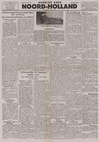 Dagblad Noord-Holland, Schager editie 1944-04-18