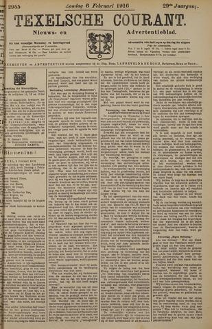Texelsche Courant 1916-02-06