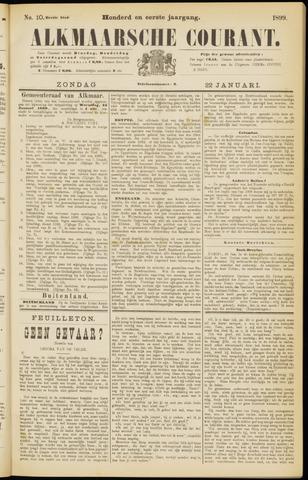 Alkmaarsche Courant 1899-01-22