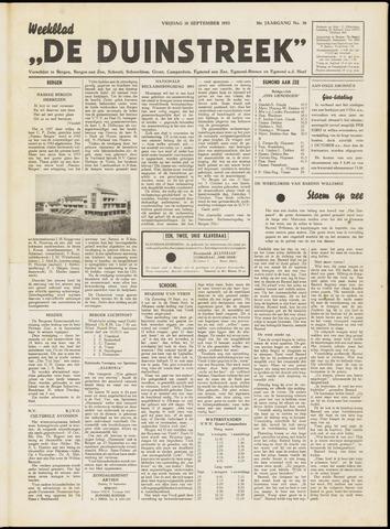 De Duinstreek 1953-09-18