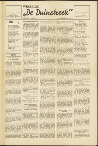 De Duinstreek 1947-05-02