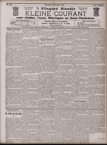 Vliegend blaadje : nieuws- en advertentiebode voor Den Helder 1903-11-18